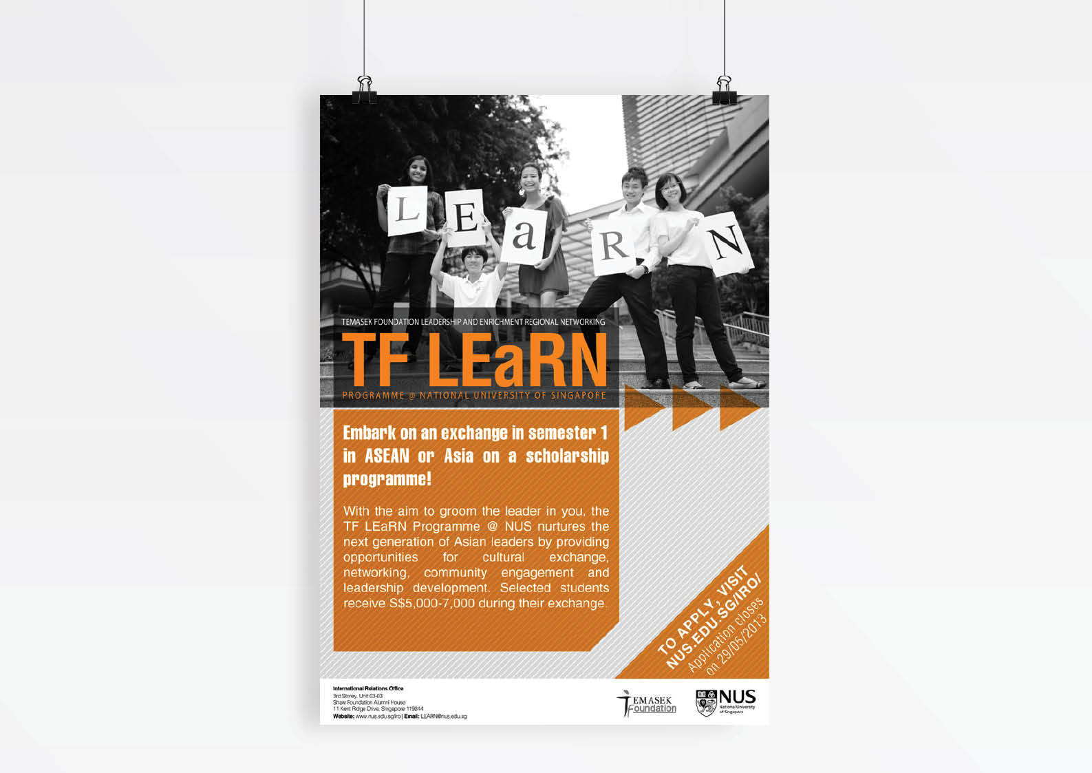 TF LEaRN Programme @ NUS - design collaterals - asianurbanist